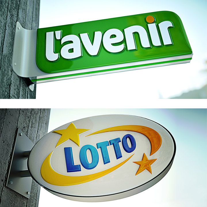 Key Company | EXTERIOR | Light Boxes | Lavenir and Lotto