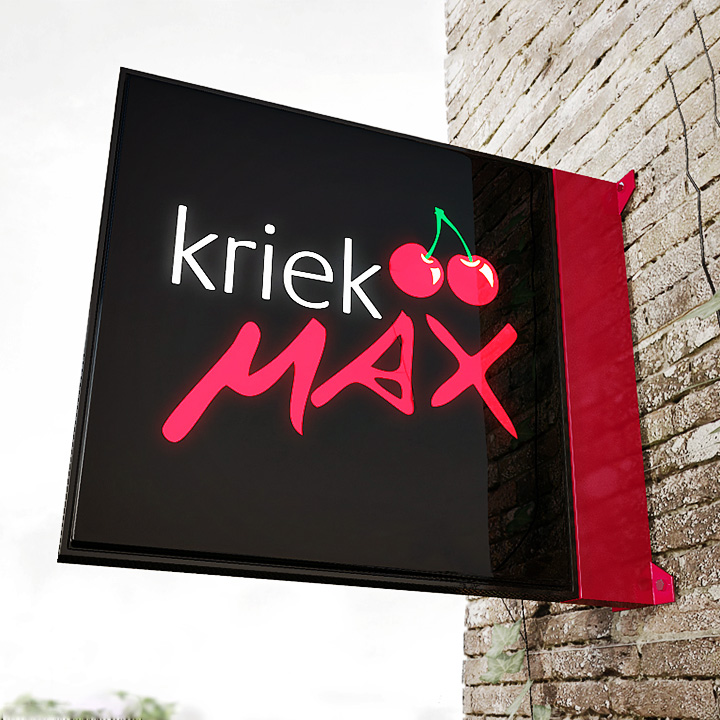 Key Company | EXTERIOR | Metal faced signs | Kriek MAX