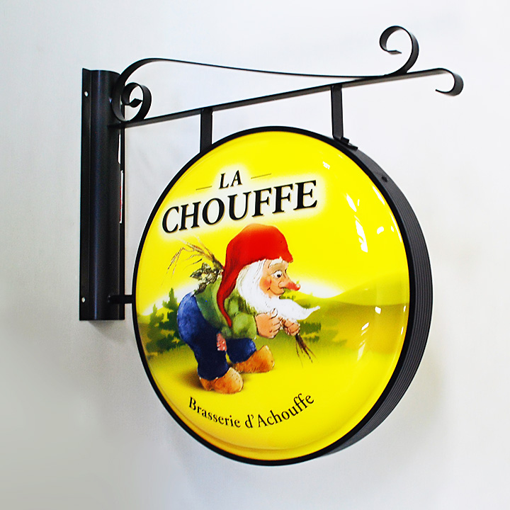 Key Company | EXTERIOR | Stylish bracket signs | La Chouffe
