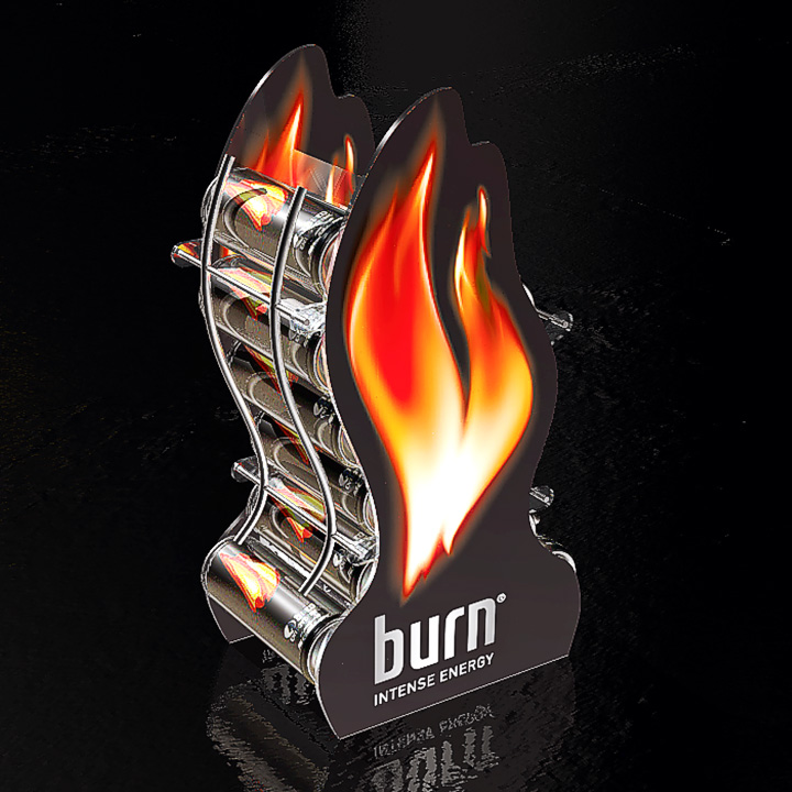 Key Company | POSM | Dispensers | Burn