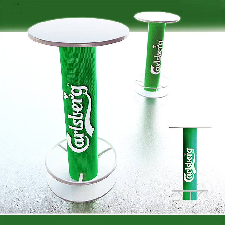 Key Company | POSM | Tables & chairs | Carlsberg