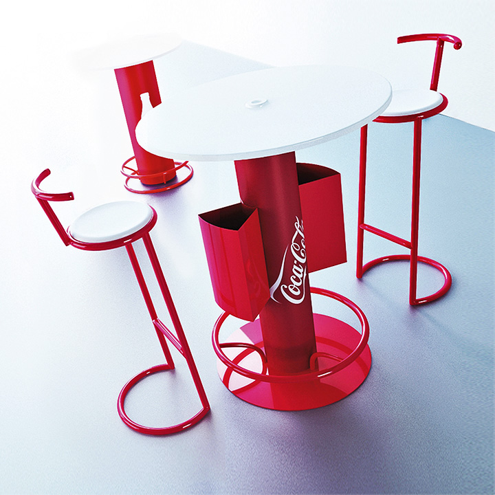 Key Company | POSM | Tables & chairs | Coca-Cola
