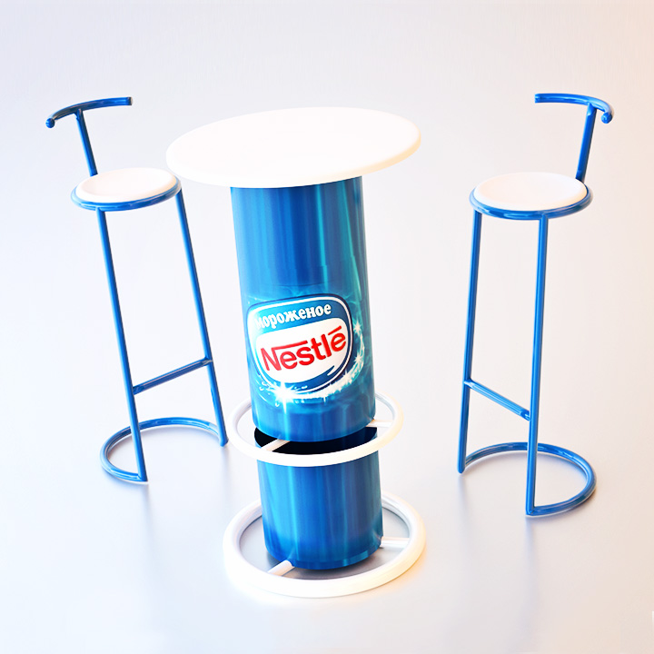 Key Company | POSM | Tables & chairs | Nestle