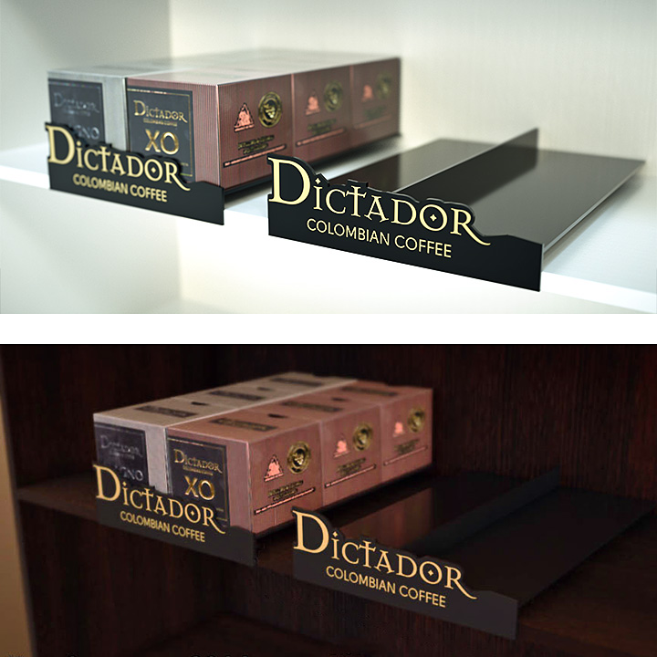 Key Company | POSM | Shelf displays | Dictador
